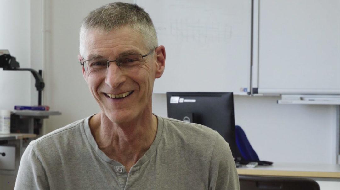 Claude, enseignant au CPNV