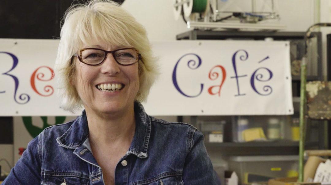 Sylvie, présidente du Y-Repair Café